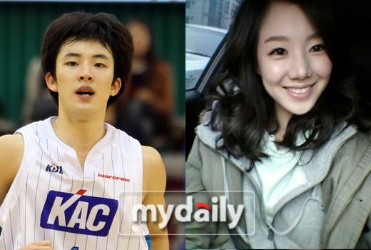 KCC 강병현, 미코 출신 박가원과 열애 중
