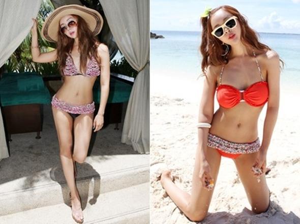 Baekboram bikini open, exercise and five months 'hatbadi' crowned