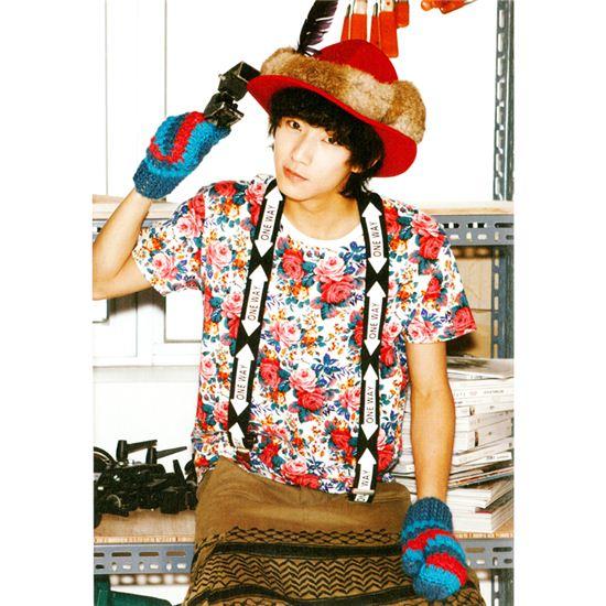 """[121219] Gongchan de B1A4 : """"J'ai le droit de voter pour le prochain président moi-même.. I'm happy"""" 20121219082916631"""