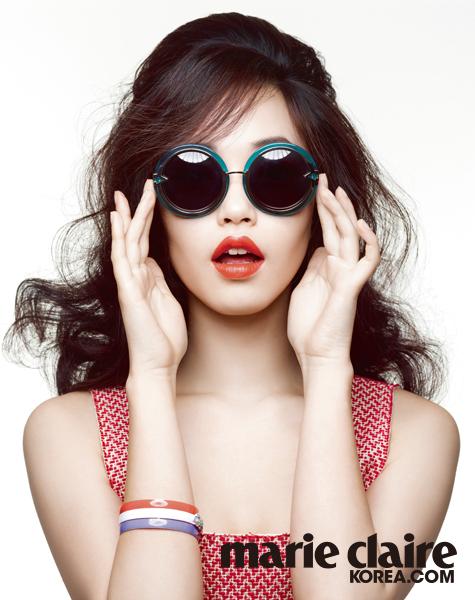 선글라스와 어울리는 메이크업