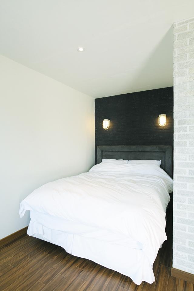 공간을 구획해 침실 만들기
