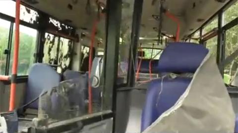 창원 시내버스 사고 당시 영상