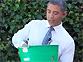 오바마의 아이스버킷 챌린지?
