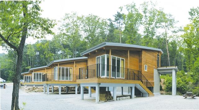문경 대야산 '숲속의 집'