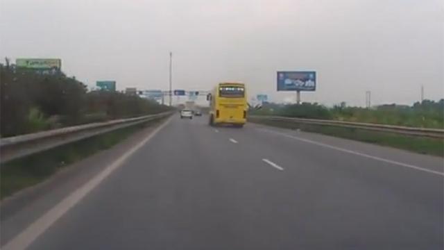 고속도로에서 제일 위험한 상황
