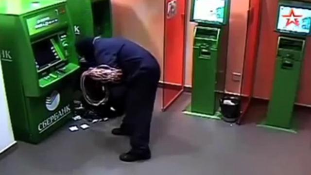 ATM기 털이범 배짱 좋은 이유