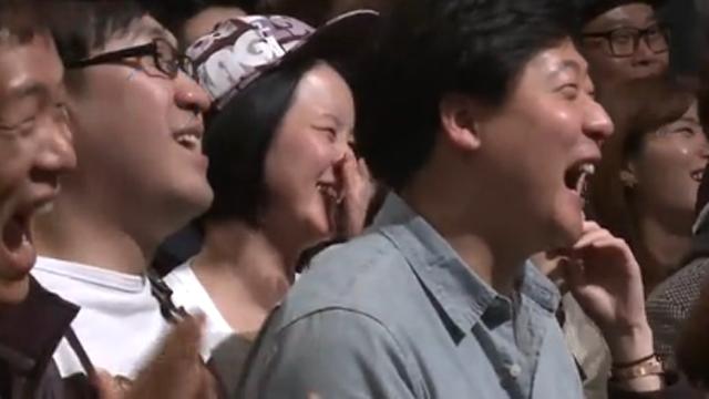관객 웃게 만든 김재우의 재치