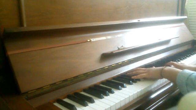 매일밤 피아노 버전으로 편곡