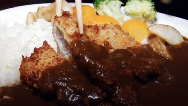 대박 퓨전의 맛 한국식 카레 치킨