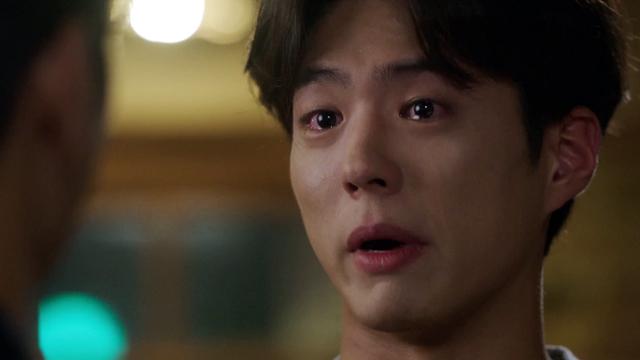 박보검, 눈물로 원망 토해내