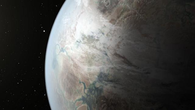 NASA에서 발견한 행성의 모습