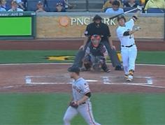 MLB 첫 연타석 홈런