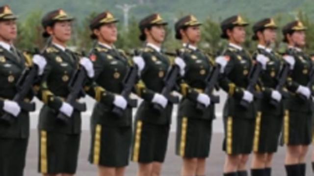 세계 이목 집중 중국 미녀 군단