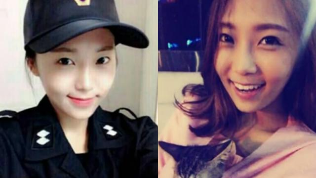 지덕체 겸비한 한국 미녀 경찰