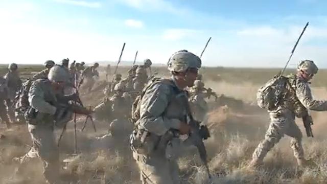 실전 방불케한 미육군의 훈련