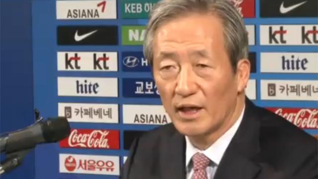 FIFA, 정몽준 자격정지 6년 징계