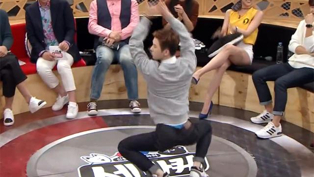 깝권으로 돌변 열정적 골반 댄스