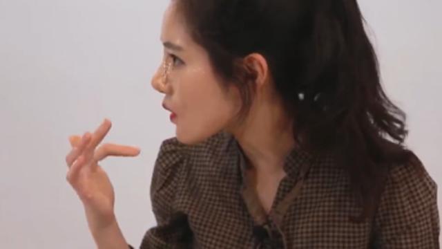 중국에서 유행 코 성형 메이크업