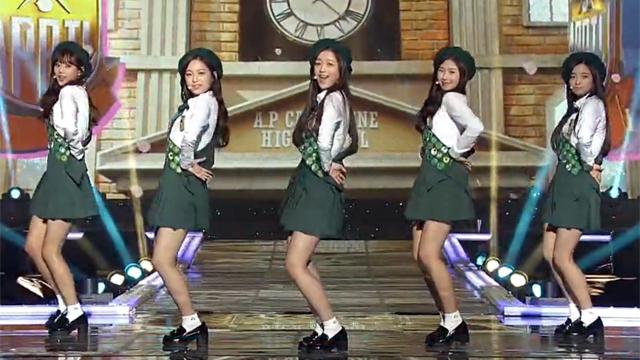 심장어택 소녀들의 입맞춤 댄스