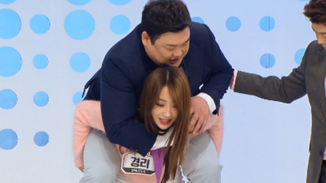 120kg 김준현 업은 놀라운 괴력
