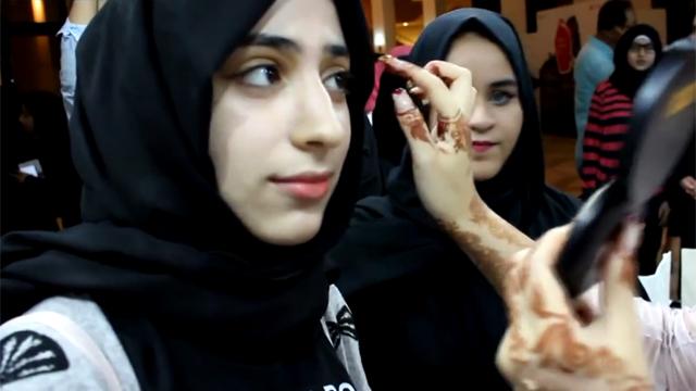 아랍 여성들이 반한 한국 화장법