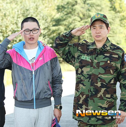 입대하는 최효종'예비역 박성호 폭소 반전 퍼포먼스'