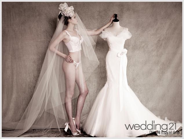 웨딩드레스 안에는 어떤 속옷을 입어야 하나요?