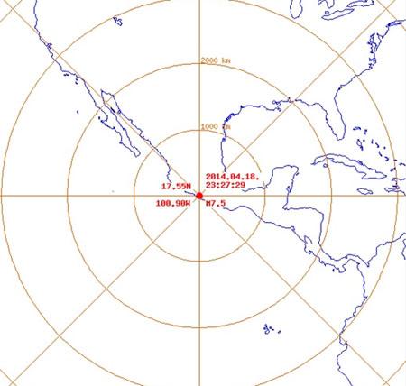 멕시코 지진, 규모 7.5 발생 '30초 동안 흔들렸다'