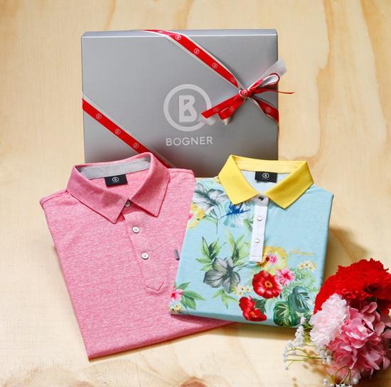 명품 골프 브랜드 보그너, 5월 맞아 남녀 티셔츠 선물 세트 선보여