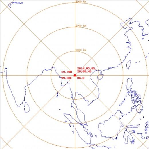 태국지진 발생, '규모 6.0으로 방콕에서도 진동 느껴져'
