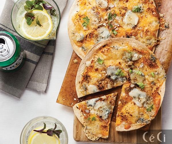 일요일 아침, 브런치 한 상-고르곤졸라 피자