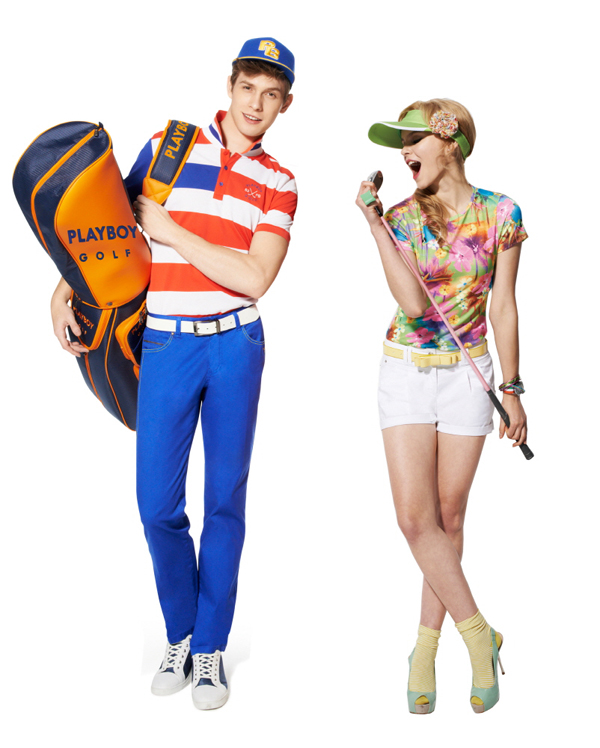 올여름 골프웨어 트렌드, 男'블루 컬러' & 女'플라워 패턴' 인기
