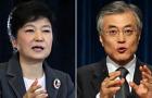 [여론조사] 박근혜 47.6%-문재인 43.6% 오차범위 내 접전