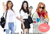 [Style Pick] 이하늬-소유-김정민, '겟잇뷰티 2015' 3MC 데일리룩은?