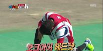 예체능팀, 홍경민 구멍 뚫린 후 계속된 '불운'
