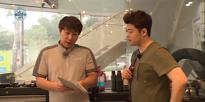 106회, 전현무, 여름맞아 자동차 정비하며 여름 준비! 20150522