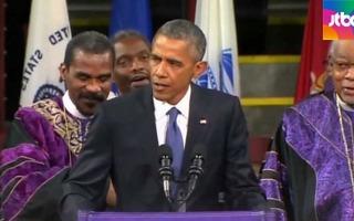 미국 감동시킨 '어메이징' 오바마 리더십..지지율 '↑'