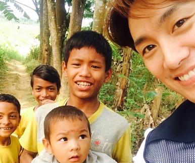 """오상진, 네팔 지진에 또 안부 전해 """"조금씩 일상 회복 노력중"""""""