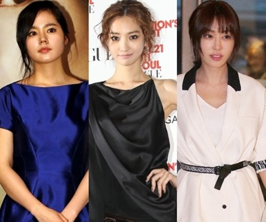 한가인·고준희·강예원, 성시경을 보러 온 미녀들