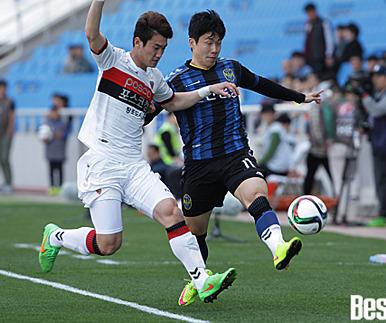 인천, 포항과 무승부..15경기 연속 무승
