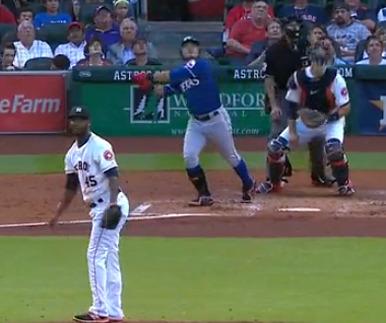 텍사스 vs 휴스턴..추신수 홈런