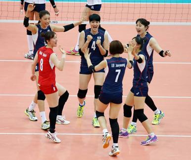 한국女배구, 亞선수권 준우승