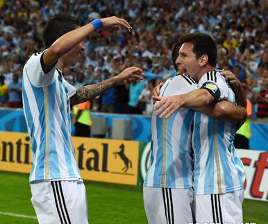 아르헨티나, '메시 보유할 자격' 증명