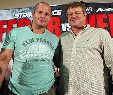 """표도르 매니저 """"UFC 여전히 협상중"""""""